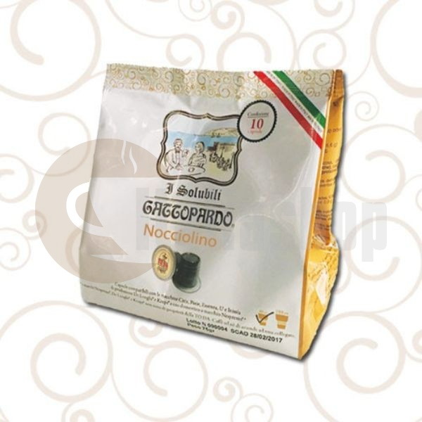 Nespresso съвместими капсули Gattopardo Лешник 10бр
