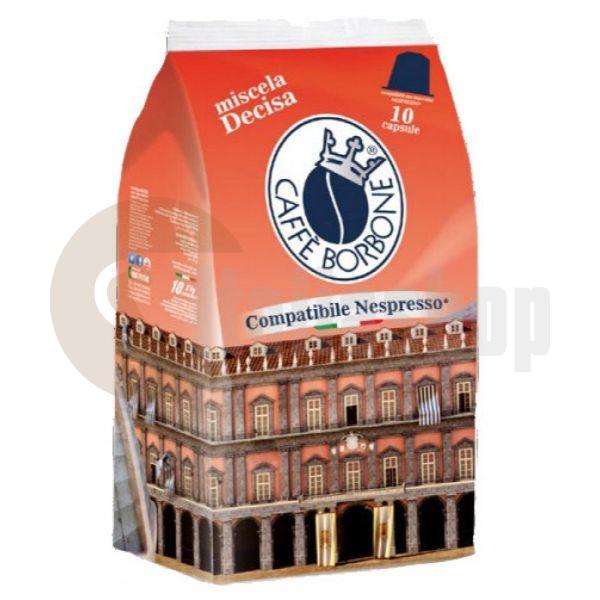 Nespresso Съвместими Капсули Borbone Nera 10бр