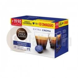 Dolce Gusto Espresso Ristretto Ardenza 80 бр + подарък 30 бр капсули микс