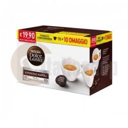 Dolce Gusto Espresso Napoli 80бр. + подарък 30 бр капсули микс
