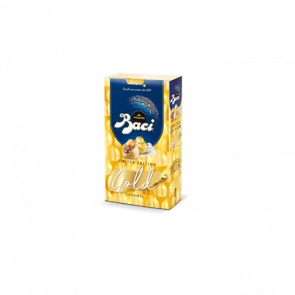 Baci Perugina Шоколадови бонбони Limitet Edition Gold 150гр