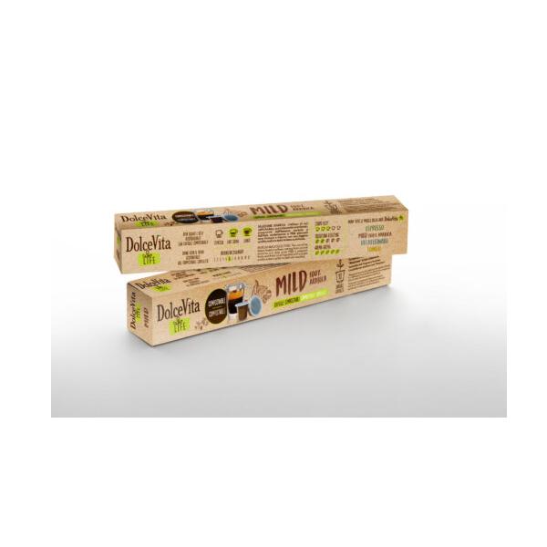 Dolce Vita съвместими капсули за Nespresso Mild 10 бр