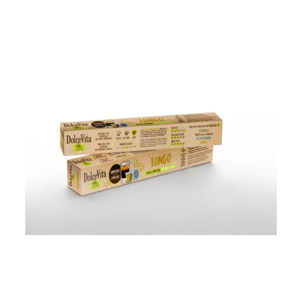 Dolce Vita съвместими капсули за Nespresso Lungo 10 бр