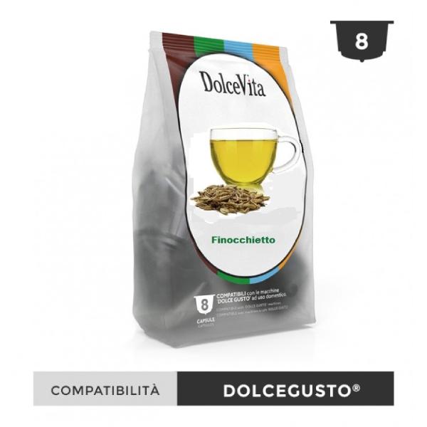 Dolce Vita съвместими капсули за Dolce Gusto Finocchietto 8 бр