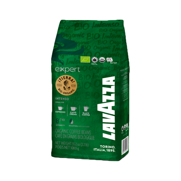 Lavazza Кафе На Зърна (i)Tierra Bio Organic Intenso - 1 Kg