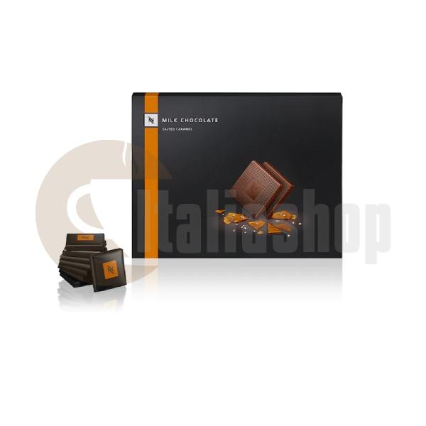 Nespresso Блокчета Млечен Шоколад Със Солен Карамел