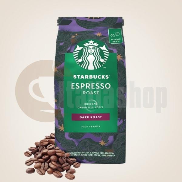 Starbucks Кафе На Зърна Espresso Dark Roast 200гр