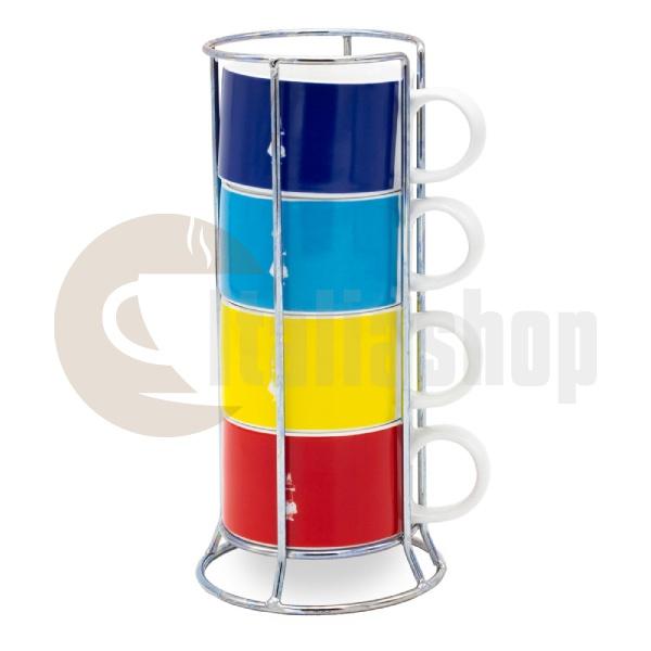 Bialetti Чаши за капучино Multicolor