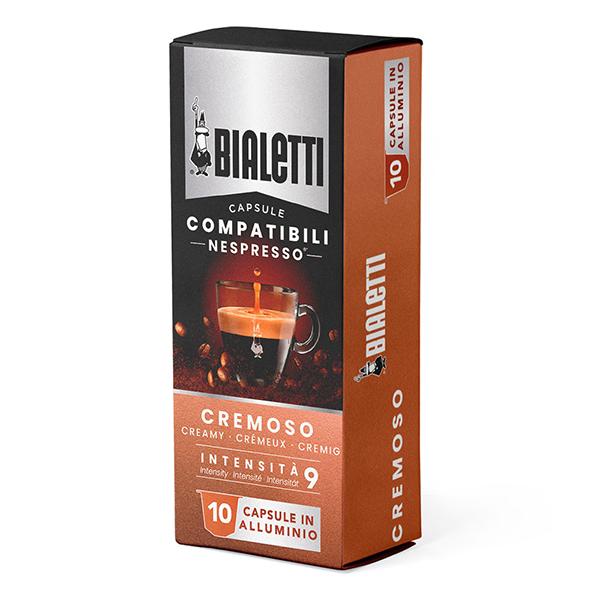 Bialetti Съвместими капсули за Nespresso Cremoso 10 броя