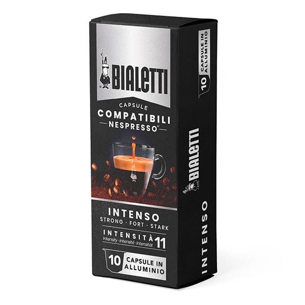 Bialetti Съвместими капсули за Nespresso Intenso 10 броя