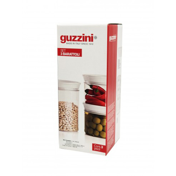 Guzzini Комплект от три буркана 12,5 см