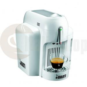 Bialetti mini express кафе машина бял цвят