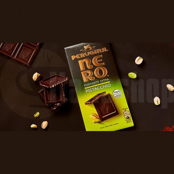 Baci Perugina Тъмен Шоколад С Шам Фъстък Nero