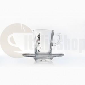 Caffè D'italia Комплект Стъклени Чаши За Еспресо