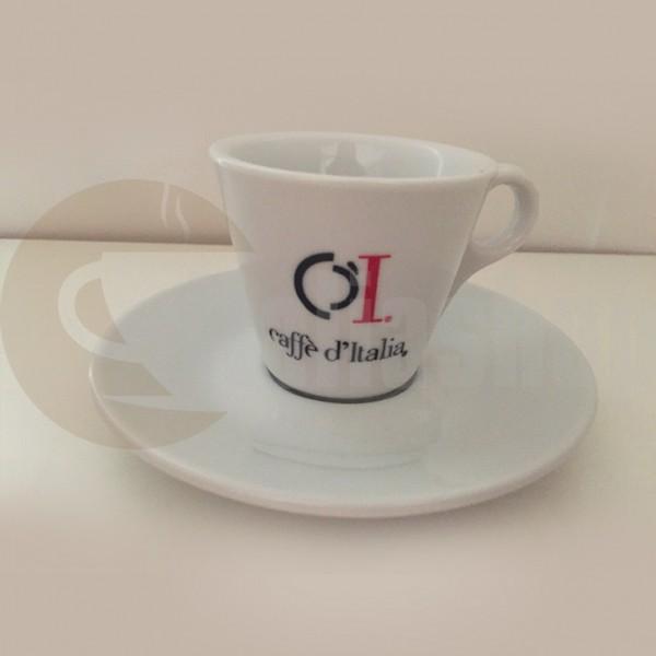 Caffè D'italia Комплект Порцеланови Чаши За Еспресо Bg