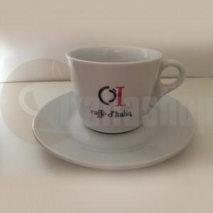Комплект порцеланови чаши за капучино BG -Caffe D`Italia
