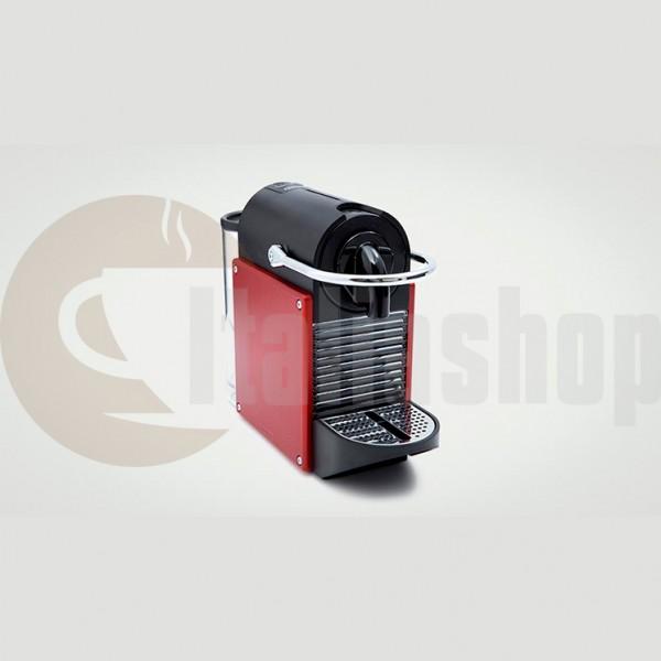 Nespresso Pixie Rosso +10 бр съвместими капсули LOR + 10 бр съвместими капсули BIALETTI + 10 бр съвместими капсули ILLY