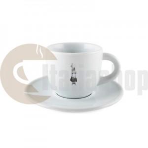 Bialetti Tazza Cappuccino Керамична Чаша За Капучино С Чинийка