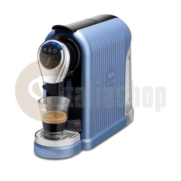 Segafredo espresso 1 plus син цвят + 1 кутия луксозни сладки Bocconotto + 10 бр капсули