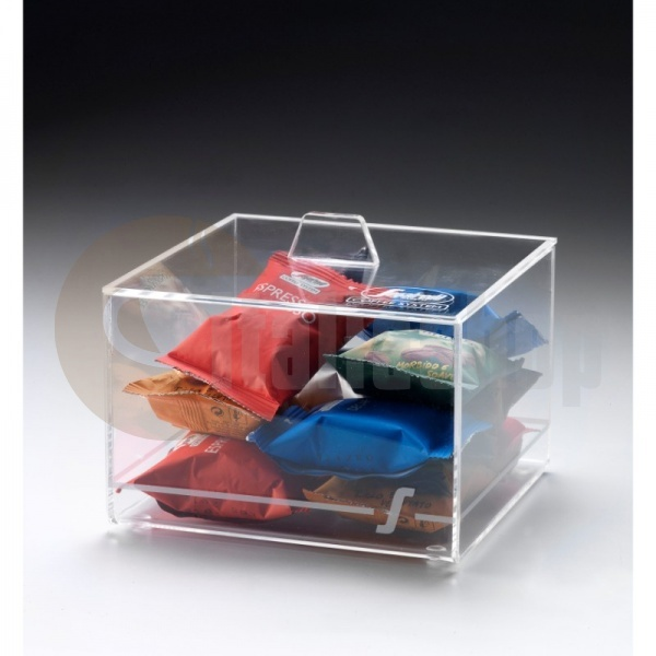 Segafredo прозрачна кутия за капсули