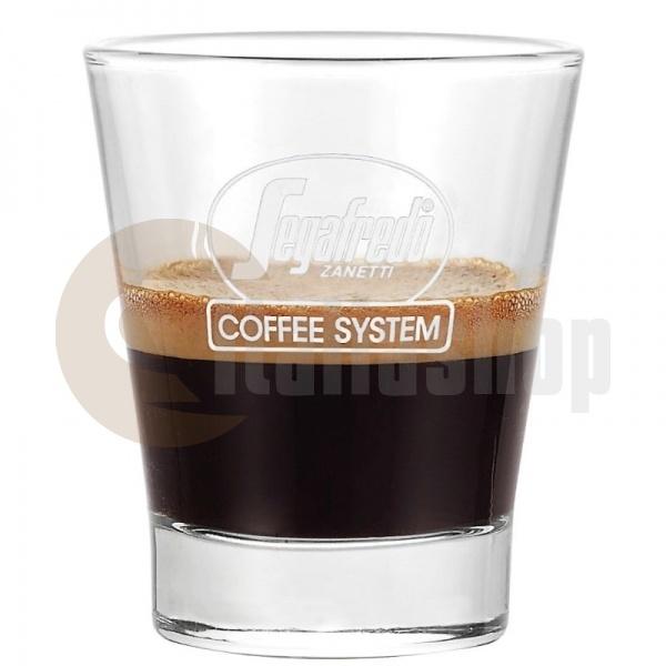 Segafredo сет стъклени чаши 6 броя