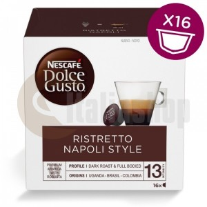 Dolce Gusto Ristretto Napoli Style 16 капсули