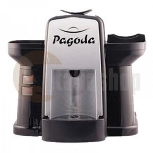 Pagoda kафе машина Lavazza Point цвят черен + 1000 капсули Мануел