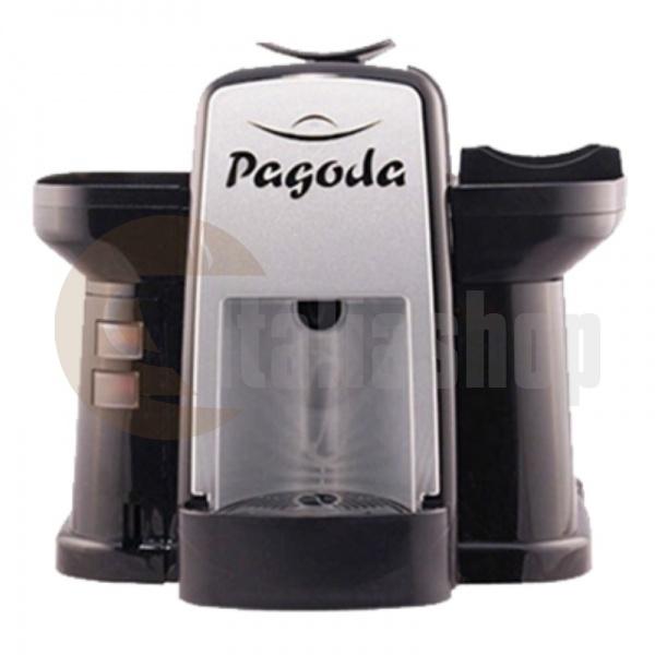 Pagoda kафе машина Lavazza Point цвят черен + 1000 капсули Мануел + 1 козунак