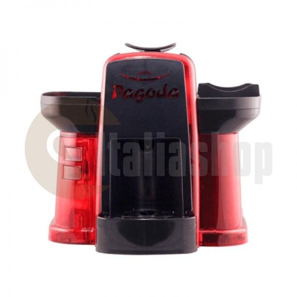 Pagoda kафе машина Lavazza Point цвят червен + 1000 капсули Мануел + 1 козунак