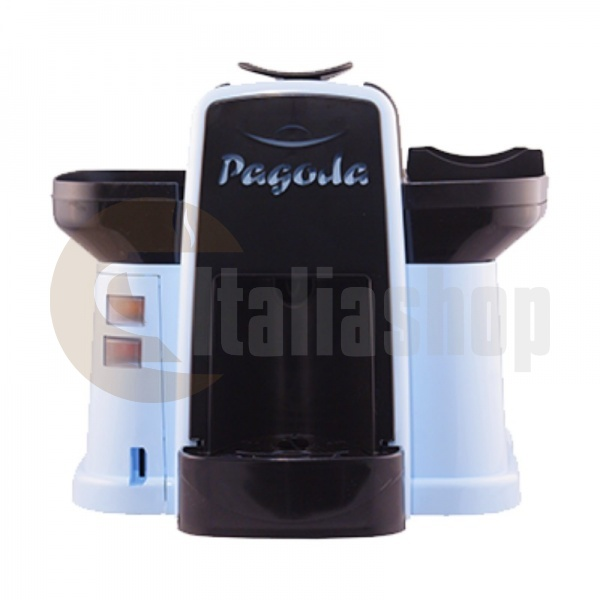 Pagoda kафе машина Lavazza Point цвят син + 1000 капсули Мануел + 1 козунак