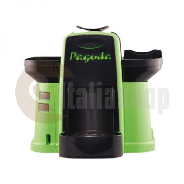 Pagoda kафе машина Lavazza Point цвят зелен + 1000 капсули Мануел + 1 козунак