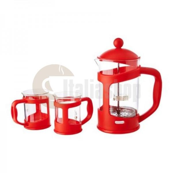 Bialetti Комплект Преса за 6 чаши Червена 1191