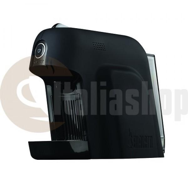 Bialetti Smart Кафе Машина, Цвят - черен, налягане 20 Бара + 1 кутия луксозни сладки Bocconotto + 32 капсули