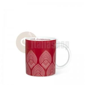 Bialetti Centenario Порцеланова чаша Червена