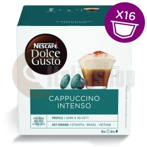 Dolce Gusto Cappuccino INTENSO 16 бр. 3437