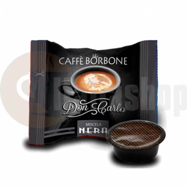 Lavazza Modo Mio Съвместими Капсули Borbone Nero 50 Бр.