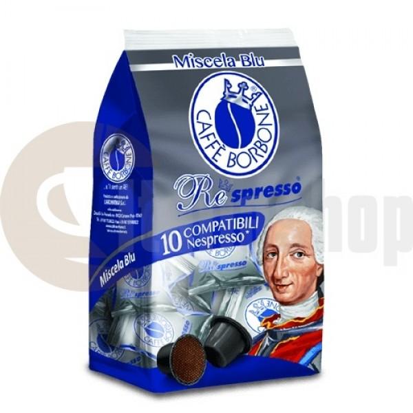 Nespresso Съвместими Капсули Borbone Blu 10 Бр.