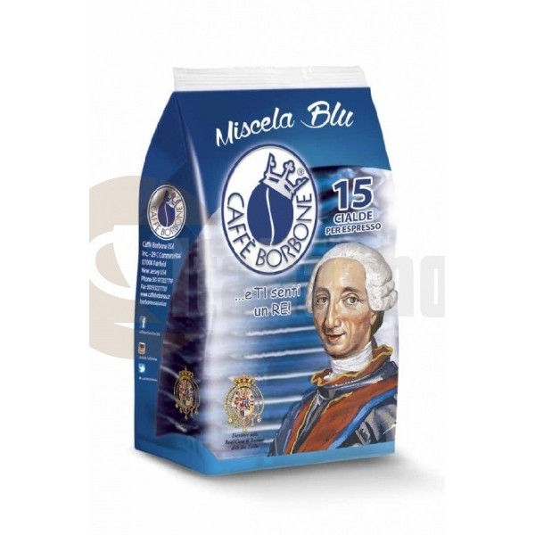 Borbone Blu Хартиена Капсула 15 Бр.