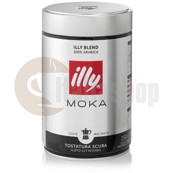 Illy Moka Tostatura Scura 250 Гр.
