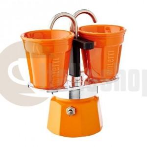 Bialetti Mini Express За 2 Чаши, Цвят Оранжев