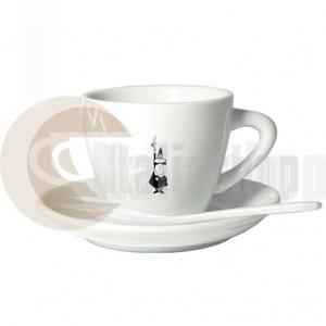 Bialetti Еспресо Порцеланова Чаша С Лъжичка И Чинийка