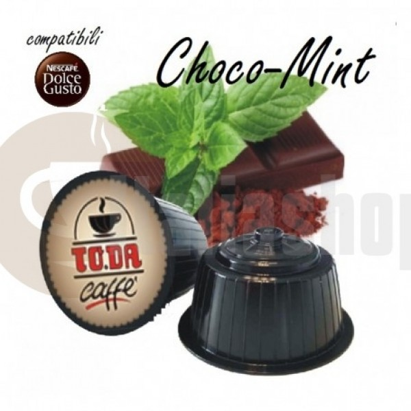 Dolce Gusto Съвместими Капсули Gattopardo Café Choco Mint 16 Броя