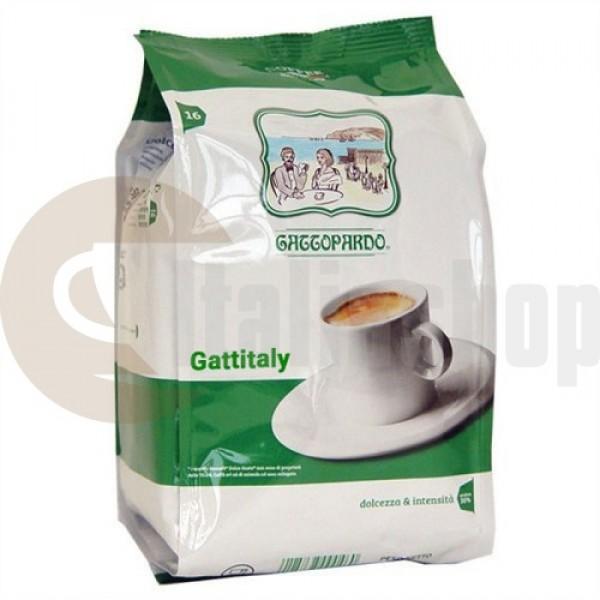 Caffitaly Съвместими Капсули Gattopardo Dek 16 Броя