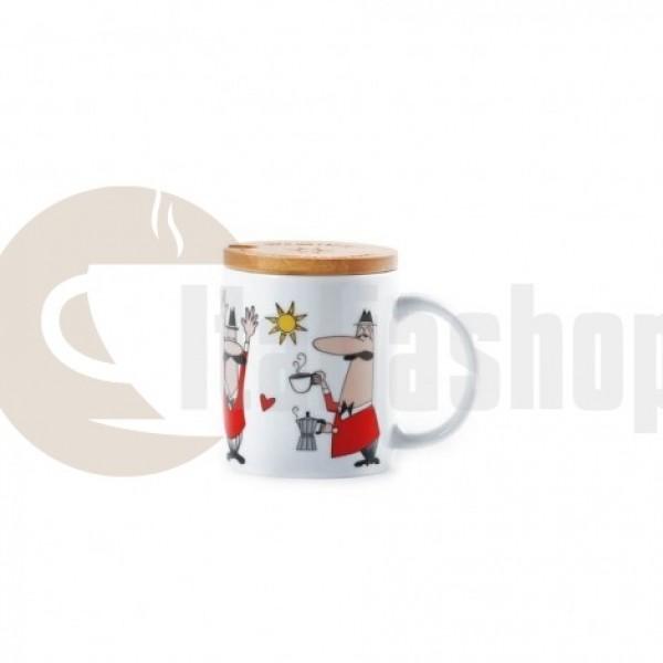 Bialetti Mug con coperchio 3489 чаша с капаче