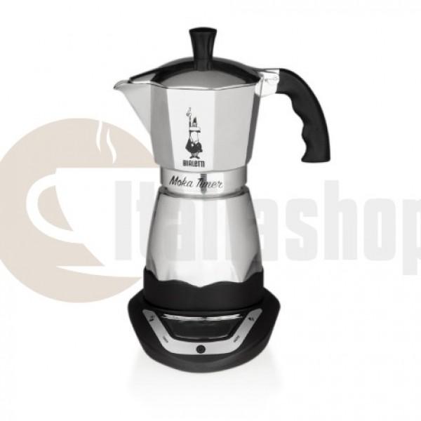 Bialetti Moka Timer 3470 електрическа кафеварка за 6 чаши кафе