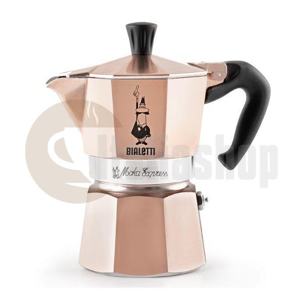 Bialetti Moka Express за 1 чаши Розово Злато