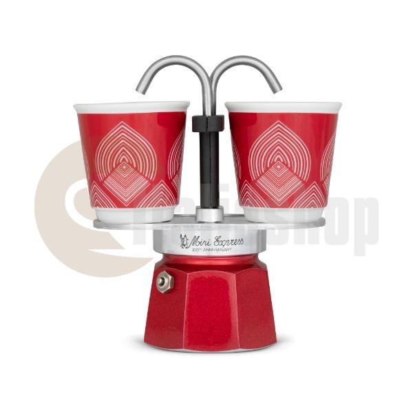 Bialetti Set Mini Express Centenario за 2 чаши