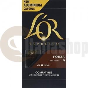 Nespresso съвместими капсули Lór forza 10 бр 3375