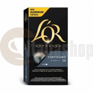 Nespresso съвместими капсули Lór fortissimo 10 бр 3379