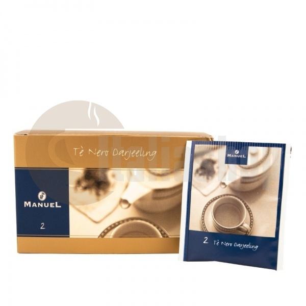 Manuel Черен чай Дарджилинг в сашета 2